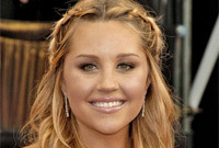 Amanda bynes braided updo side