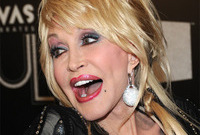 Dolly parton outrageous makeup side