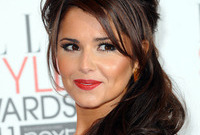 Cheryl cole half updo side