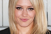How to get hilary duff hair and makeup side
