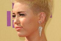 Miley cyrus new do is it worth all of the fuss side