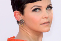 Ginnifer goodwin sixties style eye makeup side