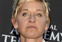 Then and now ellen degeneres side