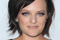 Elisabeth moss daytime smokey eye makeup side