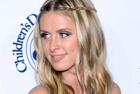 Nicky hilton angelic hairstyle side