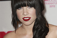 Carly rae jepsen gothic hair and makeup side