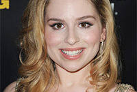 Allie grant makeup for gold hair and brown eyes side