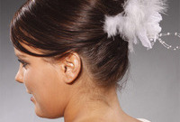 Spring hair trends 2013 accessorized hair side