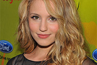 Dianna agron a hair history side