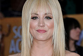 Kaley cuoco hair fail side