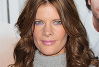 Michelle stafford lilac makeup for medium brown hair side
