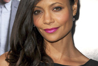 Trend spotting thandie newton in fuchsia lipstick for warm skin side