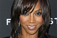 How to get holly robinson peete glam hair and makeup side